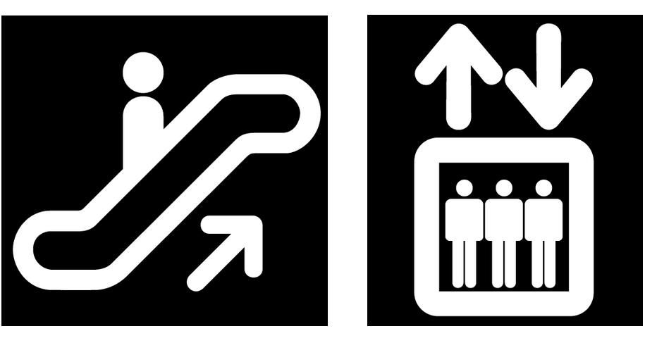 Escalator up and elevator down 4 3 13 escalator up elevator down ccuart Choice Image